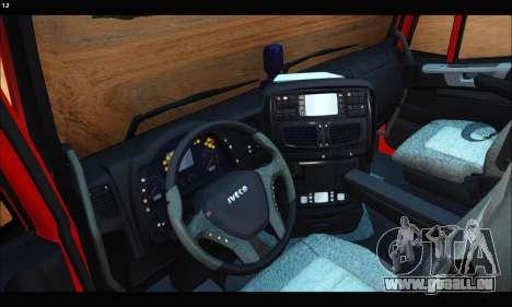 Iveco Trakker 2014 Tipper (IVF & ADD) pour GTA San Andreas vue de droite