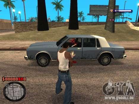C-HUD Style für GTA San Andreas dritten Screenshot