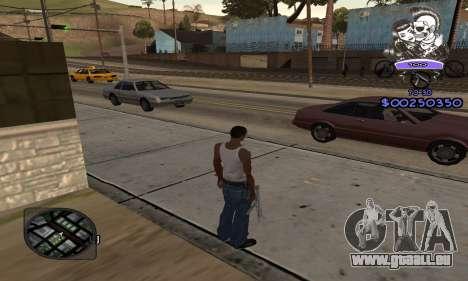 C-HUD Skillet pour GTA San Andreas troisième écran