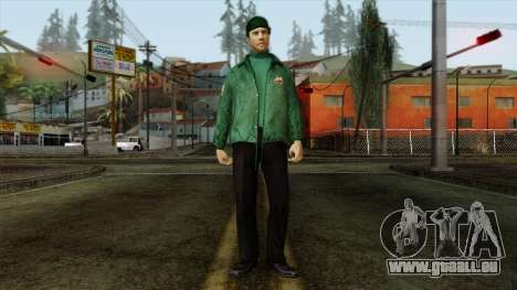 Police Skin 1 pour GTA San Andreas