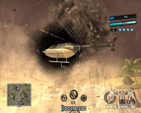 C-HUD Super Cull pour GTA San Andreas troisième écran