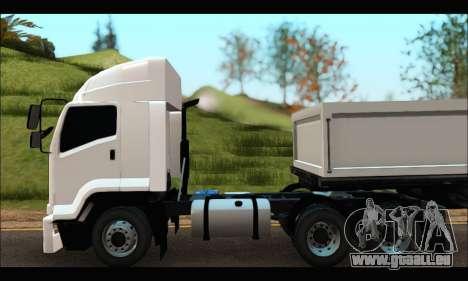 ISUZU FXZ 360 Thailand für GTA San Andreas zurück linke Ansicht