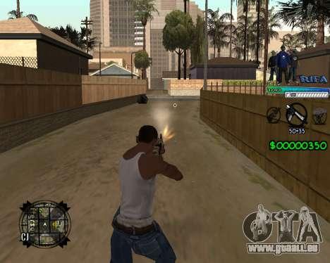 C-HUD Rifa pour GTA San Andreas