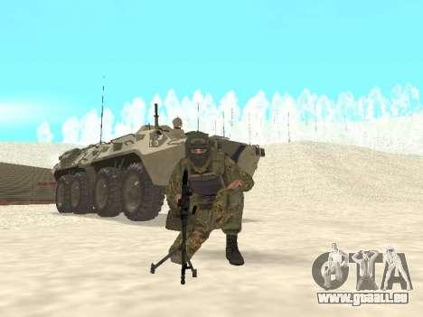 Spetsnaz MVD für GTA San Andreas dritten Screenshot