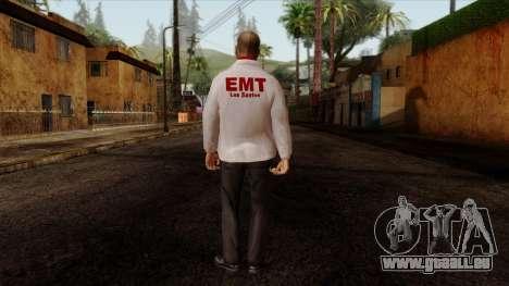 Doctor Skin 2 pour GTA San Andreas deuxième écran