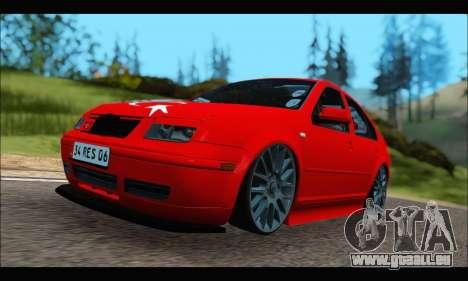 Volkswagen Bora für GTA San Andreas