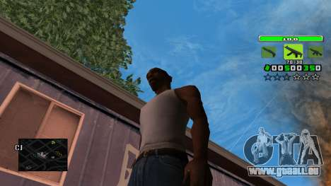 Light Green C-HUD pour GTA San Andreas