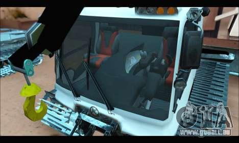 PistenBully 600S für GTA San Andreas zurück linke Ansicht