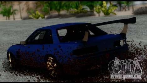 Nissan Silvia S13 DC Hunter pour GTA San Andreas laissé vue