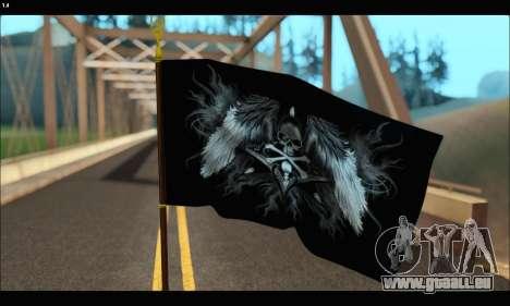 Flag Black Skul für GTA San Andreas zweiten Screenshot