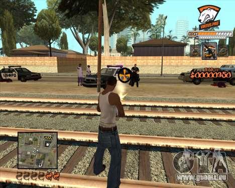 C-HUD Virtus Pro pour GTA San Andreas deuxième écran