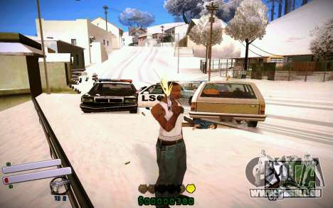 C-HUD v4.0 für GTA San Andreas her Screenshot