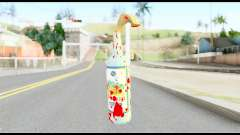 Molotov Cocktail with Blood pour GTA San Andreas