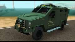 Lenco Bearcat SANG MedEvac 2009 pour GTA San Andreas