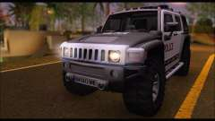 Hummer H3 Police pour GTA San Andreas