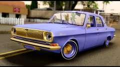 GAZ 24 Volga Lowrider La Coureurs
