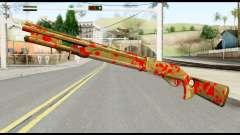 Combat Shotgun with Blood pour GTA San Andreas