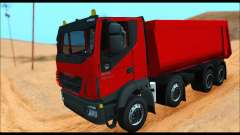 Iveco Trakker 2014 Tipper (IVF & ADD) für GTA San Andreas