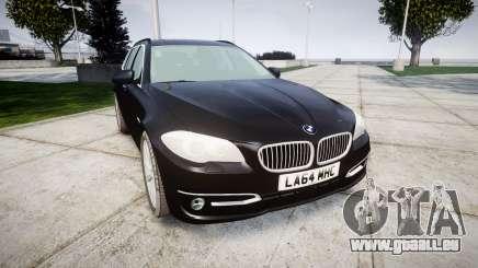 BMW 525d F11 2014 Facelift Civilian pour GTA 4