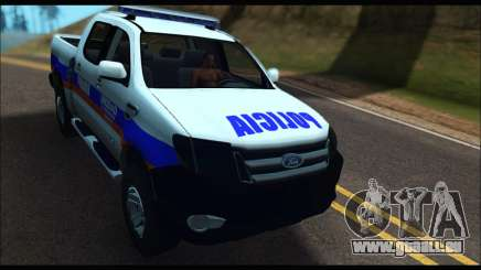 Ford Ranger P.B.A 2015 Text2 pour GTA San Andreas