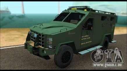 Lenco Bearcat SANG MedEvac 2009 für GTA San Andreas