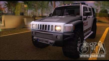 Hummer H3 Police für GTA San Andreas