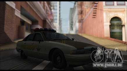 Chevrolet Caprice 1991-1993 RCSD pour GTA San Andreas