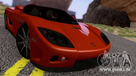 Koenigsegg CCX 2006 Road Version pour GTA San Andreas