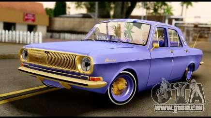 GAZ 24 Volga Lowrider La Coureurs pour GTA San Andreas