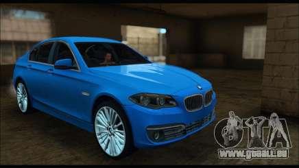 BMW 5 series F10 2014 für GTA San Andreas