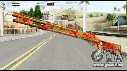 Combat Shotgun with Blood für GTA San Andreas