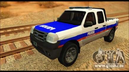 Ford Ranger 2011 Policia Bonaerense pour GTA San Andreas