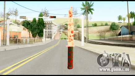 Knife with Blood für GTA San Andreas