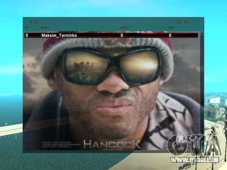 SampGUI Hancock für GTA San Andreas