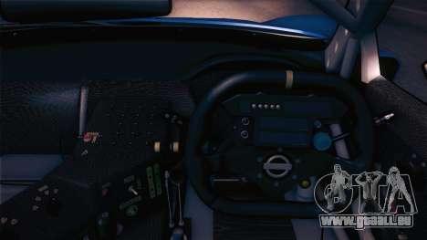 Nissan Skyline GTR-34 2003 pour GTA San Andreas vue arrière
