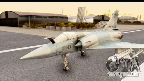 Dassault Mirage 2000-5 für GTA San Andreas