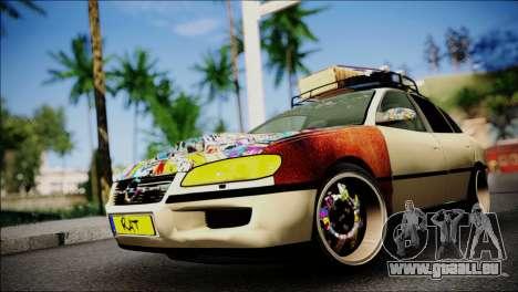 Opel Omega RAT pour GTA San Andreas