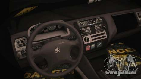 Peugeot 106 GTI F Tuning pour GTA San Andreas vue de droite