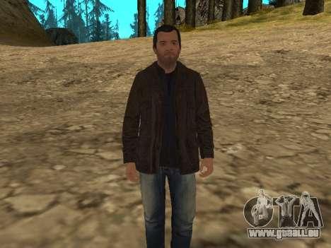 Michael von GTA 5 mit einem neuen Anzug für GTA San Andreas