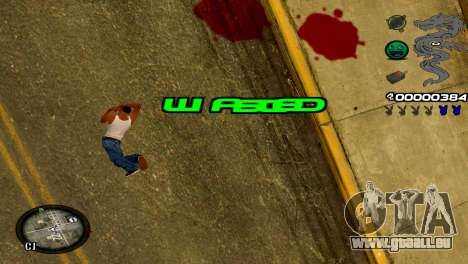 C-HUD Dragon für GTA San Andreas siebten Screenshot