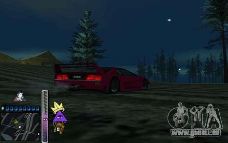 C-HUD Lite SWAG pour GTA San Andreas troisième écran