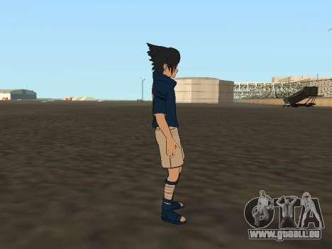 Sasuke Uchiha pour GTA San Andreas quatrième écran