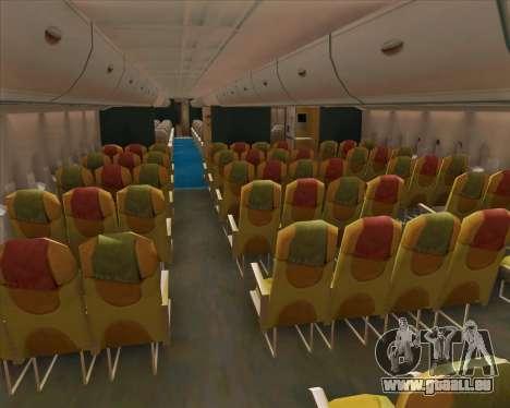 Airbus A380-800 Emirates (A6-EDJ) für GTA San Andreas Seitenansicht
