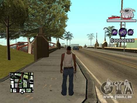 C-HUD by Sorel für GTA San Andreas