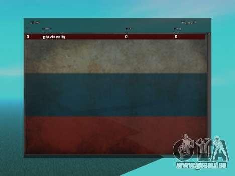 SampGUI Drapeau De La Russie pour GTA San Andreas