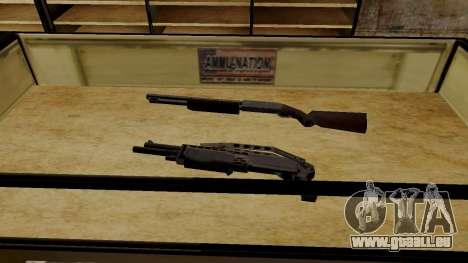 Les modèles 3D des armes dans l'Ammu-nation pour GTA San Andreas sixième écran