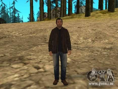 Michael von GTA 5 mit einem neuen Anzug für GTA San Andreas zweiten Screenshot