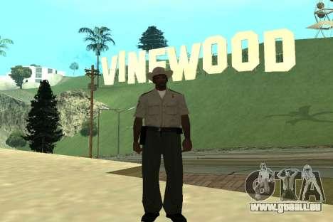 Black Police All für GTA San Andreas achten Screenshot