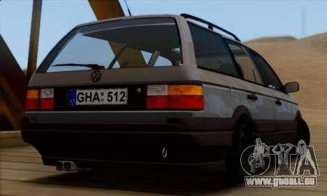 Volkswagen Passat B3 für GTA San Andreas linke Ansicht