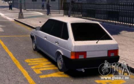 Lada 2109 für GTA 4 linke Ansicht